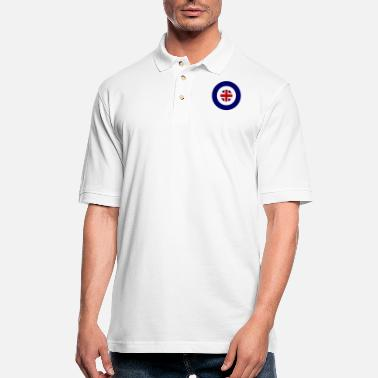 Union Jack Roundel Union Jack - Men's Pique Polo Shirt