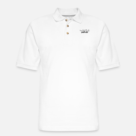 Farm Polo Shirts - You Had Me - Men's Pique Polo Shirt white
