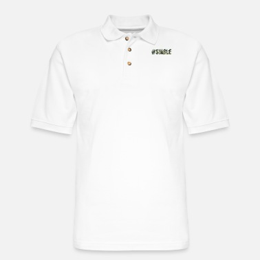 Single Single - Men's Pique Polo Shirt