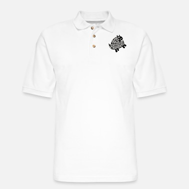 Some Of My Best Friends Are MONSTER - Men's Pique Polo Shirt