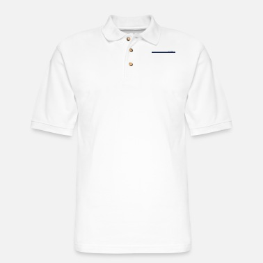Strip Programmer Strip - Men's Pique Polo Shirt