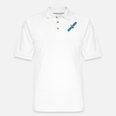 Satellite Satellite - Men's Pique Polo Shirt