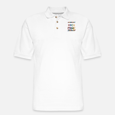 My HBCU is Dope - Men's Pique Polo Shirt