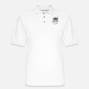 Uncle Know Someone That Is A Shark Fan? Here's A Shark - Men's Pique Polo Shirt