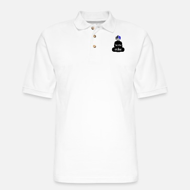 Cube BE THE CUBE - Men's Pique Polo Shirt