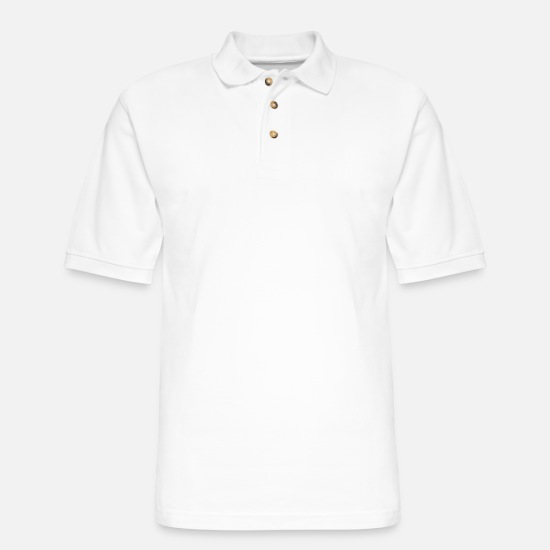 Funny Polo Shirts - Hunt Wife Most Patient Married To The Dedicated - Men's Pique Polo Shirt white
