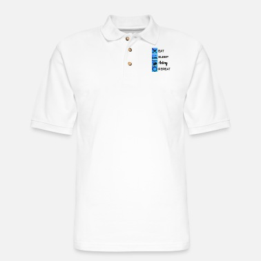 Hollywood Acting Actor Audition Gift - Men's Pique Polo Shirt