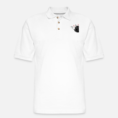 Las Vegas Poker aces - Men's Pique Polo Shirt