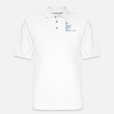 Hipster Not A Hipster - Men's Pique Polo Shirt
