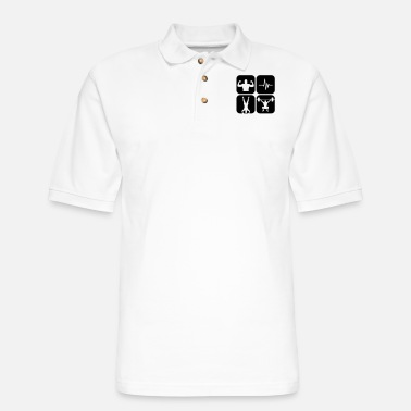 Crossfit crossfit - Men's Pique Polo Shirt