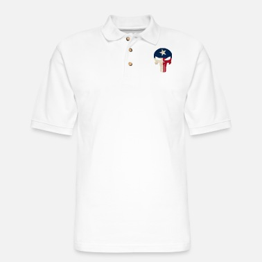 Funny Texas Texas - Don't mess with Texas people - shirt - Men's Pique Polo Shirt