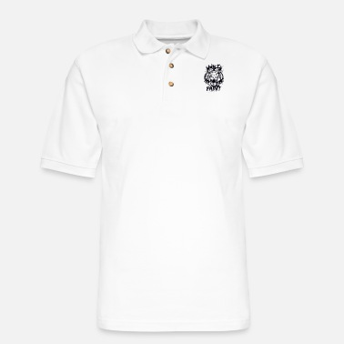 Painting Wild paints painting - Men's Pique Polo Shirt
