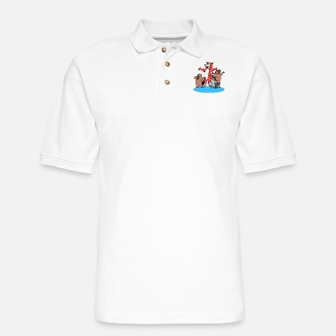 Rodent rodent - Men's Pique Polo Shirt