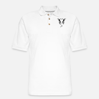 Ángel angel - Men's Pique Polo Shirt
