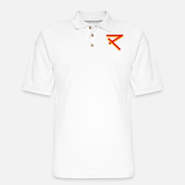 Ritual Ritual of fire - Men's Pique Polo Shirt