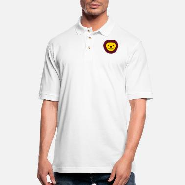 Laughing Lion - Men's Pique Polo Shirt