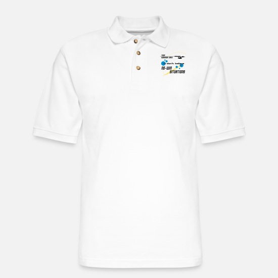 Star Polo Shirts - Kobayashi Maru - Men's Pique Polo Shirt white
