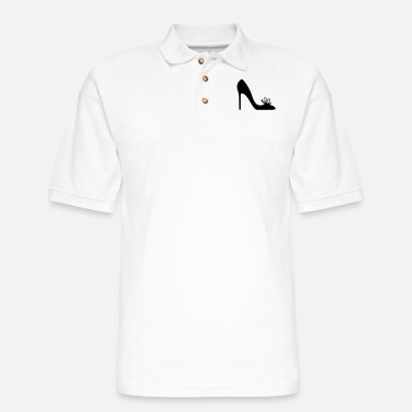 Highheels Shoe Highheels - Men's Pique Polo Shirt