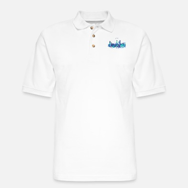 Chicago Chicago, Chicago Illinois - Men's Pique Polo Shirt
