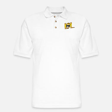 Lol LOL - Men's Pique Polo Shirt