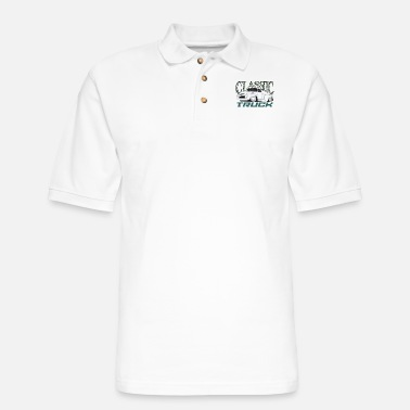 Model Classic Truck II - Men's Pique Polo Shirt