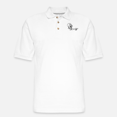 Apocalypse Show zombie cool - Men's Pique Polo Shirt