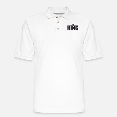 King king of the kings - Men's Pique Polo Shirt