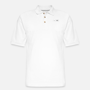 Luxury Heartbeat for luxury - Men's Pique Polo Shirt
