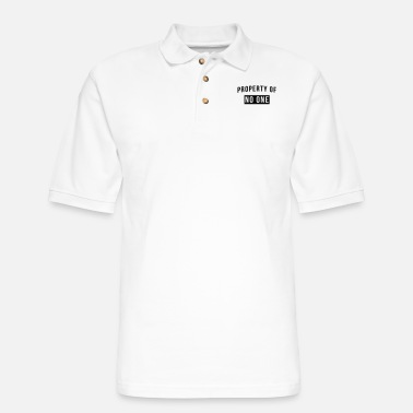 Property Of Property of no one - Men's Pique Polo Shirt