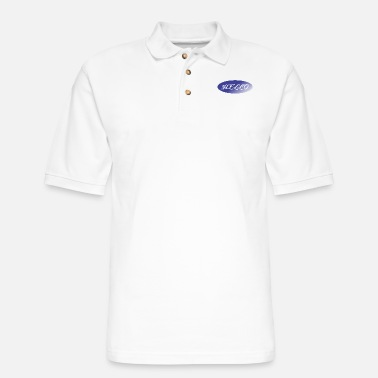 Greeting greet - Men's Pique Polo Shirt