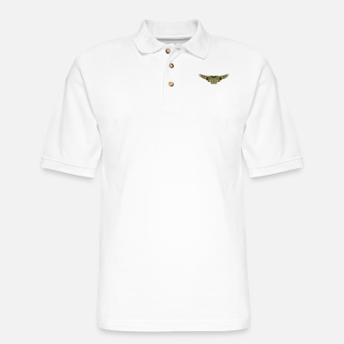 Wing wings - Men's Pique Polo Shirt