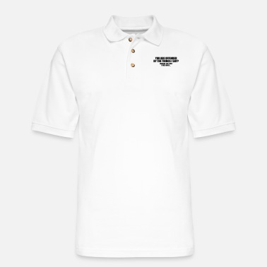 Provocation Provocative: You Are Offended? - Men's Pique Polo Shirt