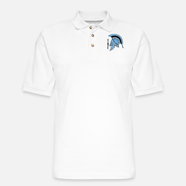 The Warrior - Men's Pique Polo Shirt