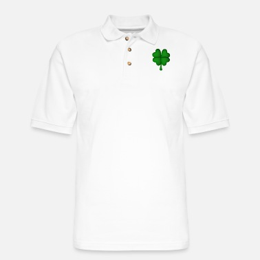 Shamrock Ireland Shamrock - Men's Pique Polo Shirt