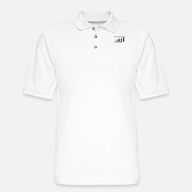 Crossfit crossfit evolution, #crossfit - Men's Pique Polo Shirt