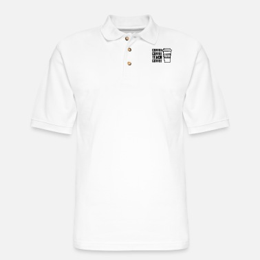 Coffee Coffee coffee teach coffee - Men's Pique Polo Shirt