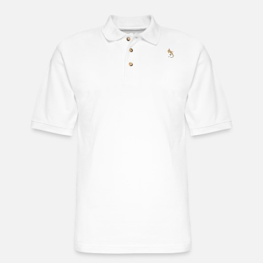 Leopard Gecko Leopard Gecko - Men's Pique Polo Shirt