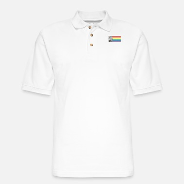 Light LGBT light saber gift - Men's Pique Polo Shirt