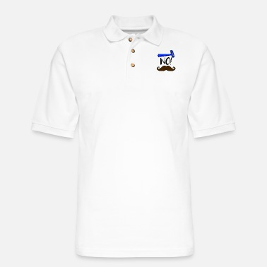 Moustache No Shave! Gift Idea November Beard Moustache Bday - Men's Pique Polo Shirt