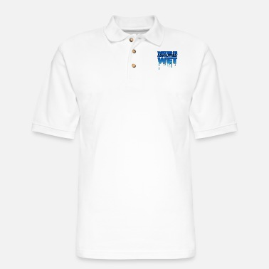Wet Water is wet - absolutely wet - Men's Pique Polo Shirt