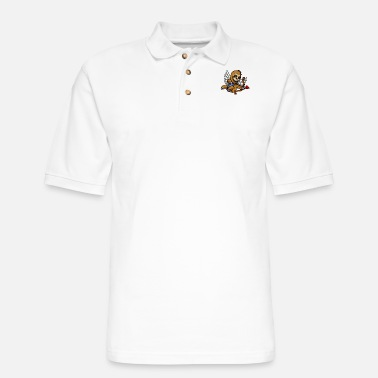 Funny Valetines Day Sloth Cupid Valetines Day Cute Animal - Men's Pique Polo Shirt