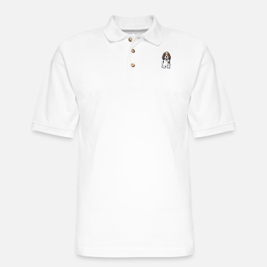 Beagles Beagle - Men's Pique Polo Shirt