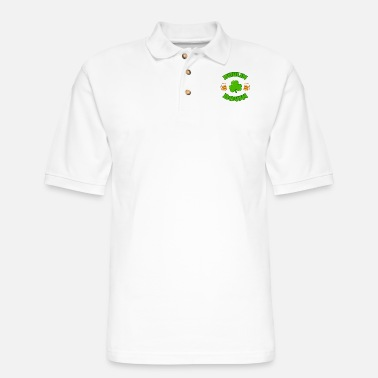 Saint Patrick St Patricks Day Irish Beer Irish Gift - Men's Pique Polo Shirt