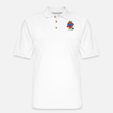 Gangster Strawberry gangster - Men's Pique Polo Shirt
