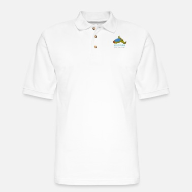 Scifi Space Exploring UFO Alien Themed Scifi Clothings - Men's Pique Polo Shirt