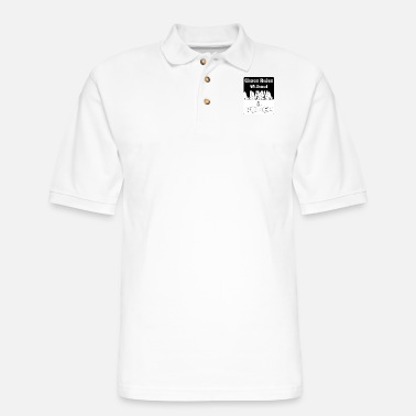 Chaos Rules Wthout Law - Men's Pique Polo Shirt
