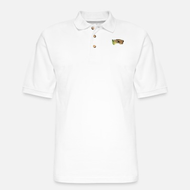 Tree Frog Frog, Tree Frog - Men's Pique Polo Shirt