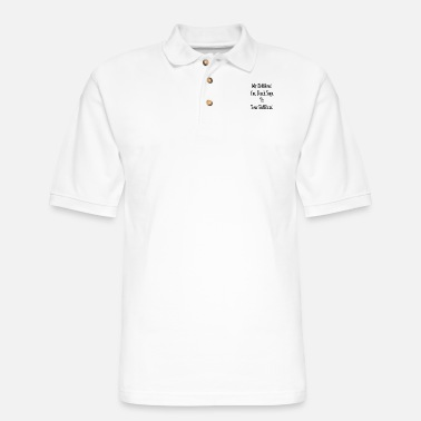 Yogis my_girlfriend_can_teach_yoga_to_your_gir - Men's Pique Polo Shirt