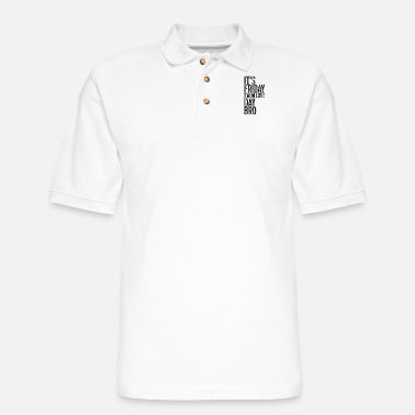 Club It's Friday I'm in love Day Bro - Men's Pique Polo Shirt