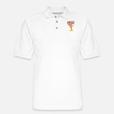 Tree The Tree of Trees - Men's Pique Polo Shirt